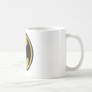 Batman Classic Logo Basic White Mug