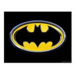 Batman Classic Logo Postcard