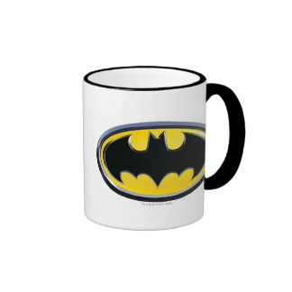 Batman Classic Logo Ringer Mug