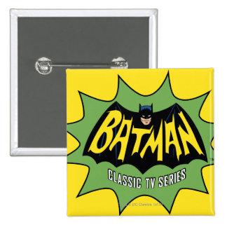 Batman Classic TV Series Logo 15 Cm Square Badge