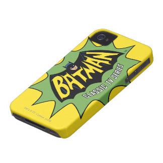 Batman Classic TV Series Logo iPhone 4 Cases