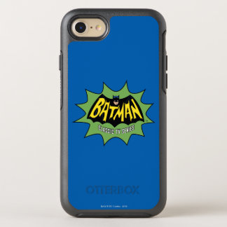 Batman Classic TV Series Logo OtterBox Symmetry iPhone 8/7 Case