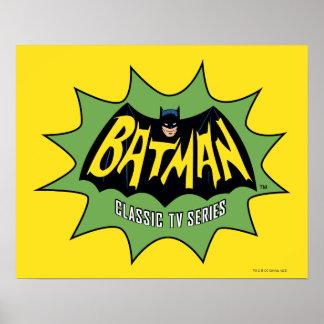 Batman Classic TV Series Logo Print