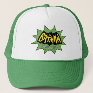 Batman Classic TV Series Logo Trucker Hat