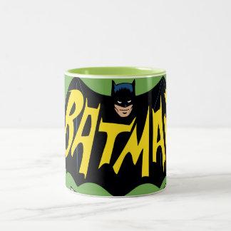 Batman Classic TV Series Logo Two-Tone Mug