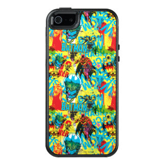 Batman Color Code Pattern 1 OtterBox iPhone 5/5s/SE Case