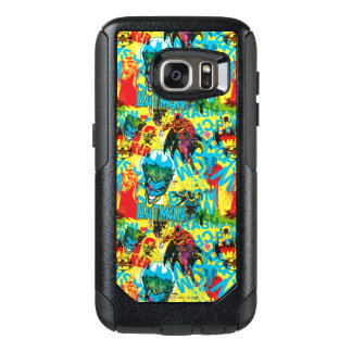 Batman Color Code Pattern 1 OtterBox Samsung Galaxy S7 Case