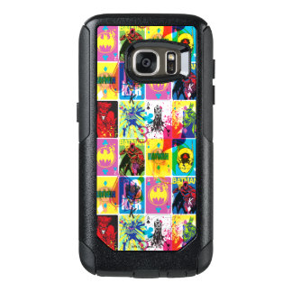 Batman Color Code Pattern 2 OtterBox Samsung Galaxy S7 Case
