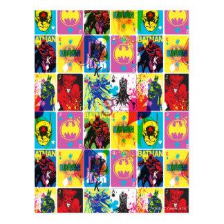 Batman Color Code Pattern 2 Postcard