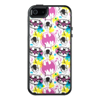 Batman Color Code Pattern 3 OtterBox iPhone 5/5s/SE Case