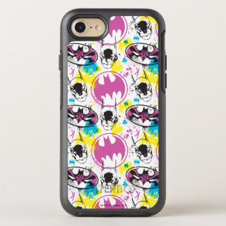 Batman Color Code Pattern 3 OtterBox Symmetry iPhone 8/7 Case