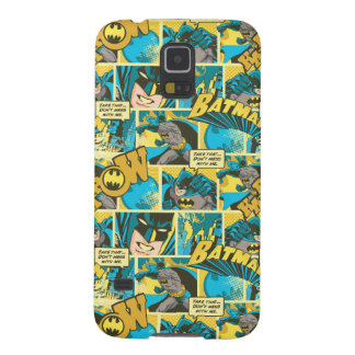 Batman Comic Capers Pattern 2 Case For Galaxy S5