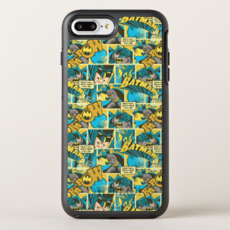 Batman Comic Capers Pattern 2 OtterBox Symmetry iPhone 8 Plus/7 Plus Case