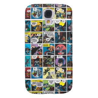 Batman Comic Panel 5x5 Galaxy S4 Case