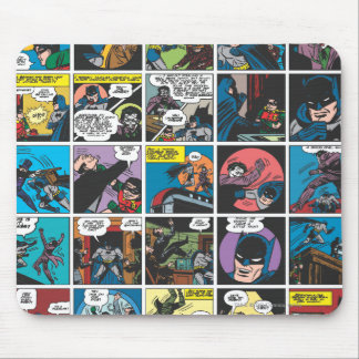 Batman Comic Panel 5x5 Mouse Mat
