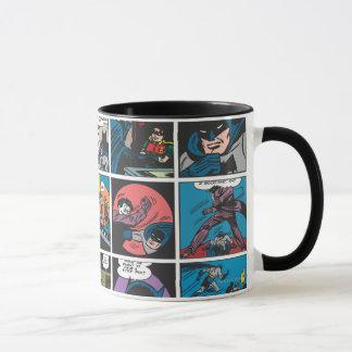 Batman Comic Panel 5x5 Mug