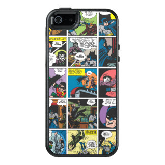 Batman Comic Panel 5x5 OtterBox iPhone 5/5s/SE Case