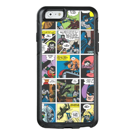 Batman Comic Panel 5x5 OtterBox iPhone 6/6s Case