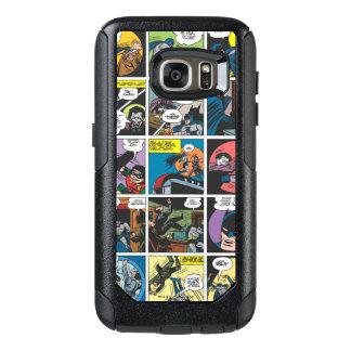 Batman Comic Panel 5x5 OtterBox Samsung Galaxy S7 Case