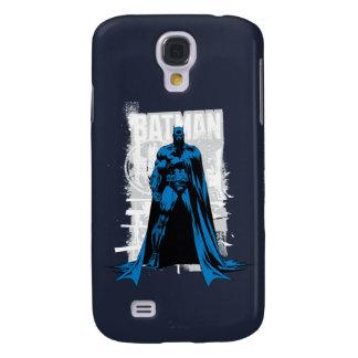 Batman Comic - Vintage Full View Galaxy S4 Case