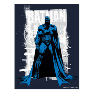 Batman Comic - Vintage Full View Postcard