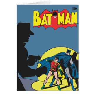 Batman Comic - with Robin Greeting Card