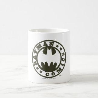 Batman Comics Basic White Mug