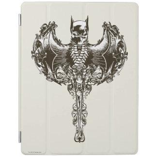 Batman Cowl and Skull Crest iPad Cover