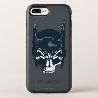 Batman Cowl/Skull Icon OtterBox Symmetry iPhone 8 Plus/7 Plus Case