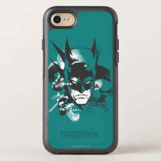 Batman Crest Design OtterBox Symmetry iPhone 8/7 Case