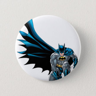 Batman Crouches 6 Cm Round Badge