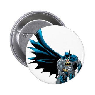 Batman Crouches 6 Cm Round Badge