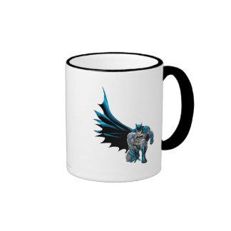 Batman Crouches Coffee Mugs