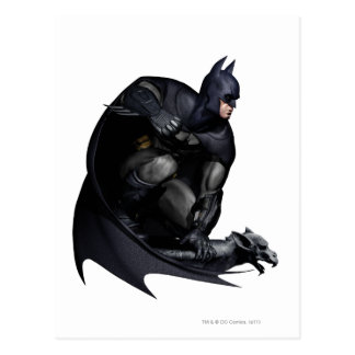Batman Crouching Postcard