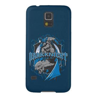 Batman Dark Knight | Blue Grey Logo Cases For Galaxy S5
