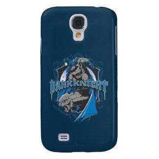 Batman Dark Knight | Blue Grey Logo Galaxy S4 Case