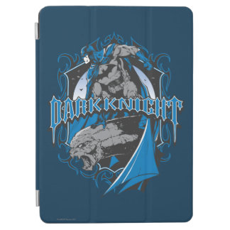 Batman Dark Knight   Blue Grey Logo iPad Air Cover