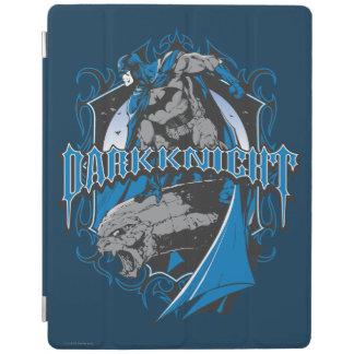Batman Dark Knight   Blue Grey Logo iPad Cover