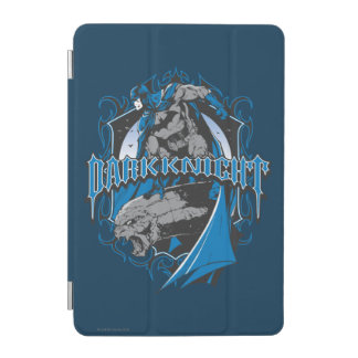 Batman Dark Knight | Blue Grey Logo iPad Mini Cover