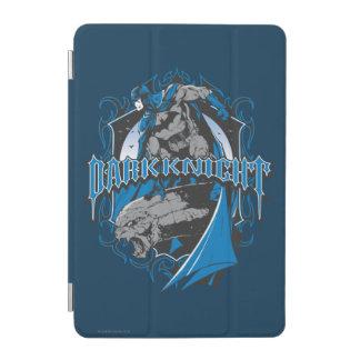 Batman Dark Knight | Blue Grey Logo iPad Mini Cover