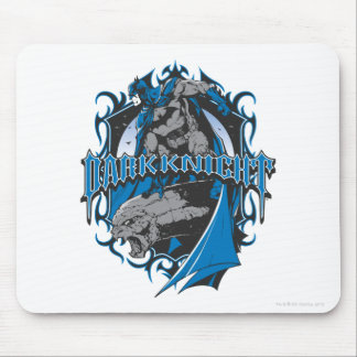 Batman Dark Knight | Blue Grey Logo Mouse Mat