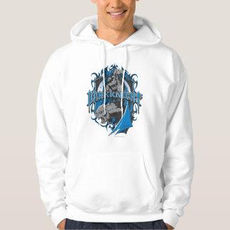 Batman Dark Knight   Blue Grey Logo Pullover