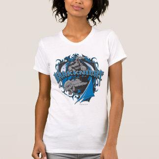 Batman Dark Knight   Blue Grey Logo Shirt