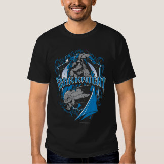 Batman Dark Knight | Blue Grey Logo Shirts