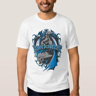Batman Dark Knight | Blue Grey Logo T Shirts