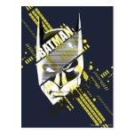 Batman Dark Knight Futuristic Postcard