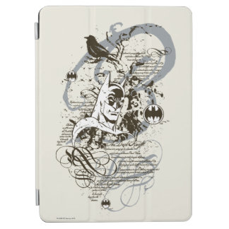 Batman Dark Knight Manuscript Montage iPad Air Cover