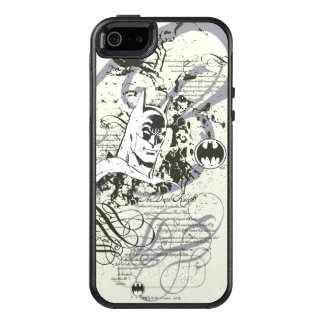 Batman Dark Knight Manuscript Montage OtterBox iPhone 5/5s/SE Case