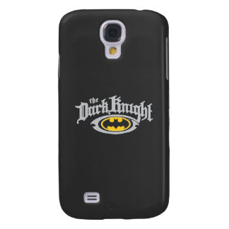Batman Dark Knight | Name and Oval Logo Galaxy S4 Case