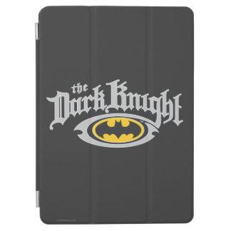 Batman Dark Knight   Name and Oval Logo iPad Air Cover